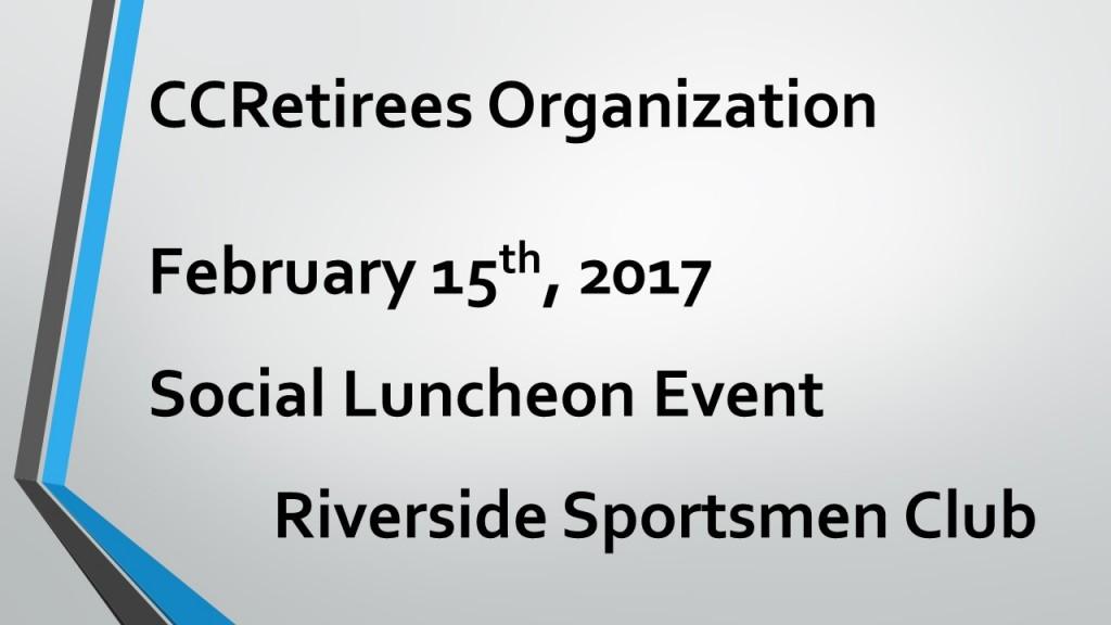 February 15th 2017 Social